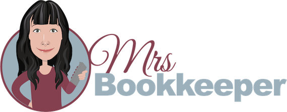 Mrs. Bookkeeper logo